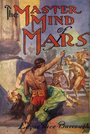 The Master Mind of Mars - Dust-jacket of The Master Mind of Mars