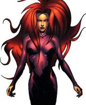 Medusa (comics) - Image: Medusa profile