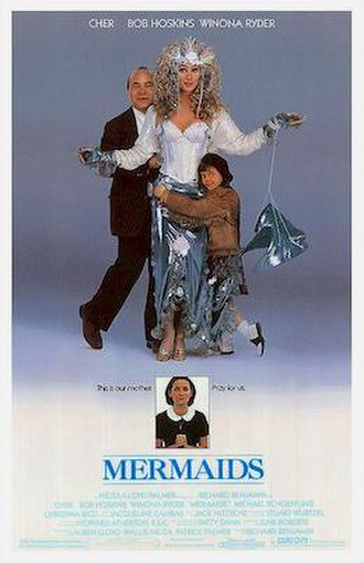 Mermaids (1990 film) - Theatrical release poster