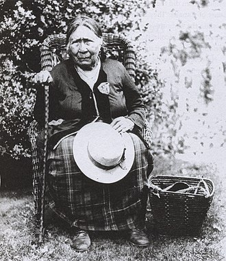 First Nations - Squamish woman