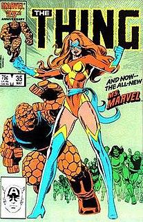 Sharon Ventura Marvel comic book character
