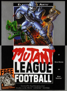 <i>Mutant League Football</i> 1993 video game
