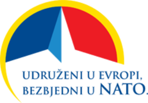 Montenegro–NATO relations - Logo of Accession of Montenegro to NATO.