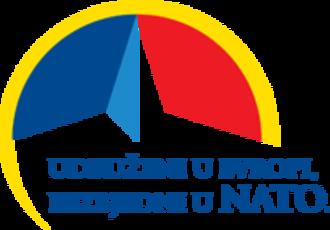 Montenegro–NATO relations - Logo of Accession of Montenegro to NATO.