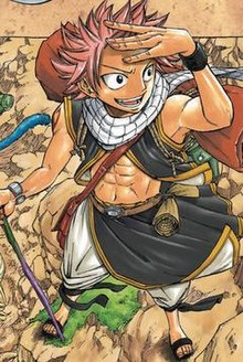 The main male protagonist of the Fairy Tail series