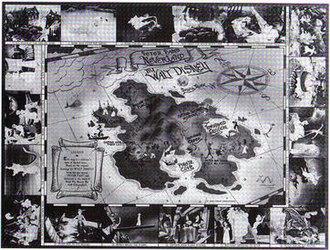 Neverland - Image: Neverland map