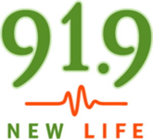 WRCM - Former logo of New Life 91.9