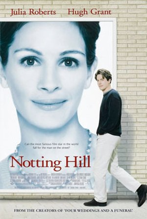 Notting Hill (film) - Image: Notting Hill Roberts Grant