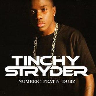 Number 1 (Tinchy Stryder song) - Image: Numbah 1