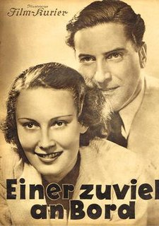 <i>One Too Many on Board</i> 1935 film by Gerhard Lamprecht