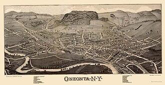Oneonta, New York - Image: Oneonta 1