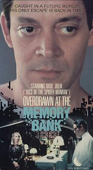 Overdrawn at the Memory Bank - VHS cover for Overdrawn at the Memory Bank