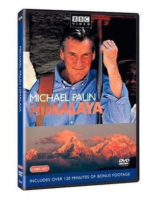 Himalaya with Michael Palin - DVD cover