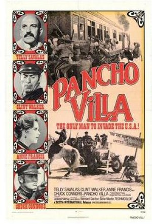 Pancho Villa (film) - Theatrical release poster