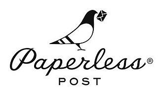 Paperless Post - Image: Paperless Post logo