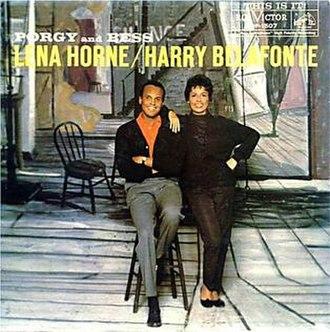 Porgy and Bess (Harry Belafonte and Lena Horne album) - Image: Porgy and Bess (Harry Belafonte and Lena Horne album)