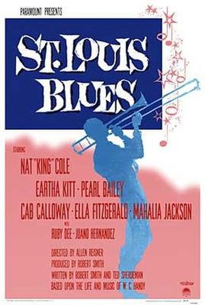 St. Louis Blues (1958 film) - Film poster