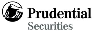Prudential Securities business enterprise