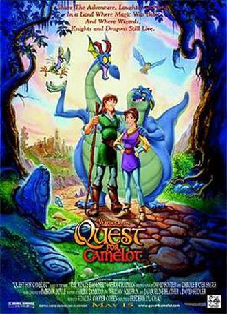 Quest for Camelot - Image: Quest for Camelot Poster