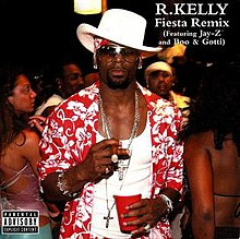 R Kelly Fiesta Remix US CD Single