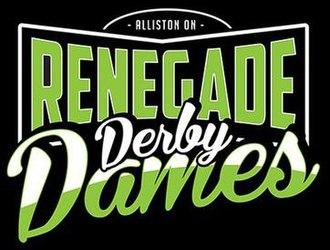 Renegade Derby Dames - Image: Renegade Derby Dames logo