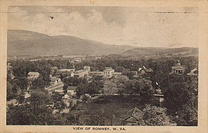 Romney, West Virginia - Early 20th Century view of Romney