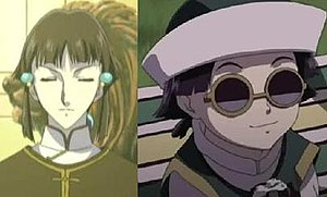 Black Blood Brothers - Left: Sei during the Kowloon Shock; Right: The current Sei.