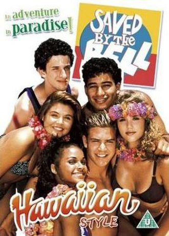 Saved by the Bell: Hawaiian Style - 2004 British DVD cover