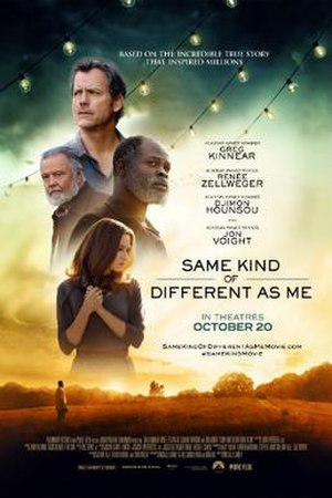 Same Kind of Different as Me (film) - Theatrical release poster
