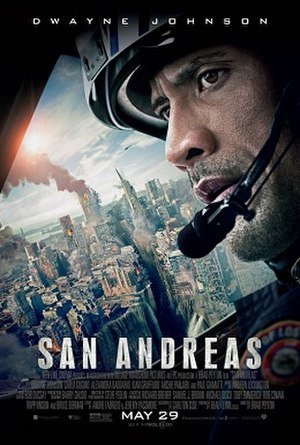 San Andreas (film) - Theatrical release poster