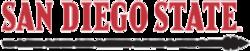 San Diego State Aztecs offizielle wordmark.png