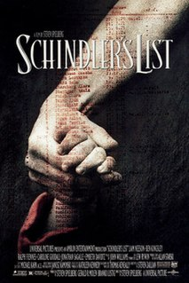 <i>Schindlers List</i> 1993 film directed by Steven Spielberg
