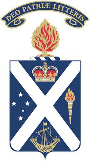 Scotch College, Melbourne - Image: Scotch College Melbourne Crest