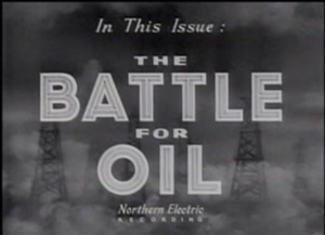 The Battle for Oil - Title Frame