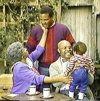 The Robinson family (Sesame Street) - Kevin Clash as Adult Miles on episode 2313.