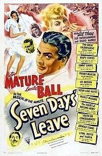 <i>Seven Days Leave</i> (1942 film) 1942 film by Tim Whelan