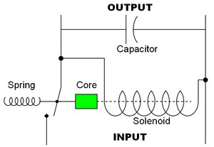Voltage regulator on two way circuit diagram