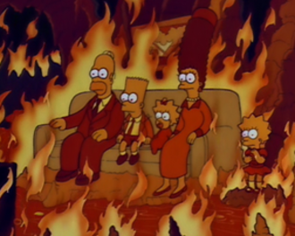 "Homer vs. Lisa and the 8th Commandment - Lisa imagines what Hell might be like after becoming fearful that she is violating the Eighth Commandment (""thou shalt not steal"") by watching stolen cable television."
