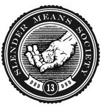 Slender Means Society - Image: Slendermeanssocietyl ogo