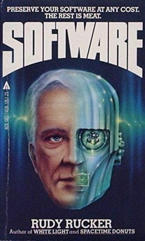 Software (novel) - Cover of first edition (paperback)