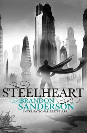 The Reckoners - Cover of Steelheart, the first book in the series