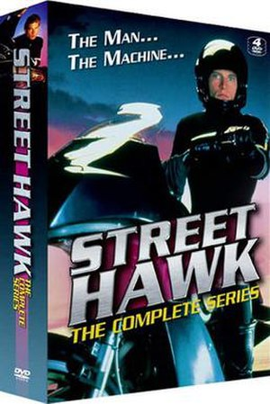Street Hawk - DVD Box cover art
