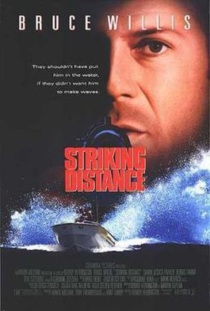 Striking Distance - Theatrical release poster