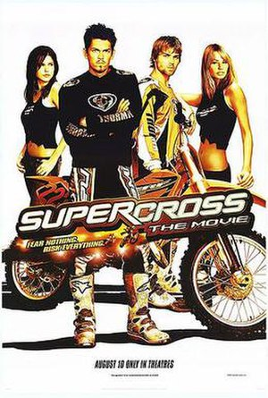 Supercross (film) - Theatrical release poster