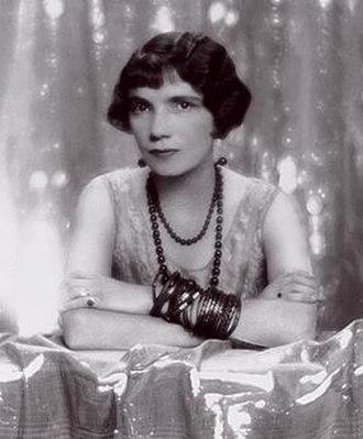Sylvia Brett - Portrait by Paul Tanqueray, 1930