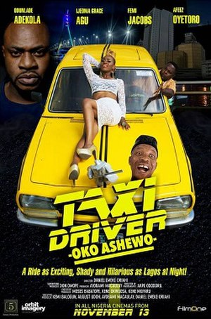 Taxi Driver: Oko Ashewo - Theatrical release poster