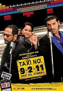 <i>Taxi No. 9211</i> 2006 film by Milan Luthria