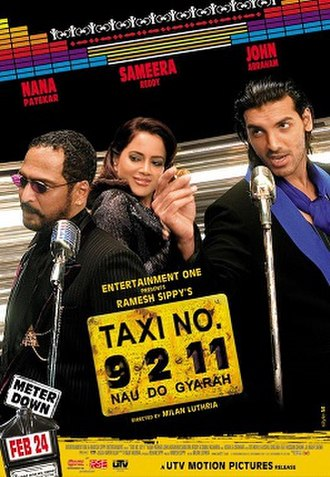 Taxi No. 9211 - Theatrical release poster