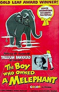 <i>The Boy Who Owned a Melephant</i> 1959 film