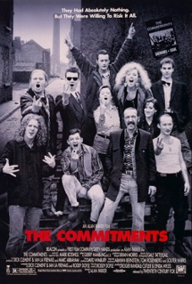"""<i>The Commitments</i> (film) 1991 film based on the novel """"The Commitments"""" by Roddy Doyle"""